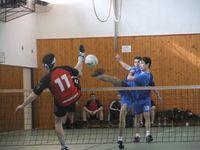 1.kolo KP2013  Vrdy vs. Nymburk souboj hostujicího Javůrka č.11 s domácím Líbalem
